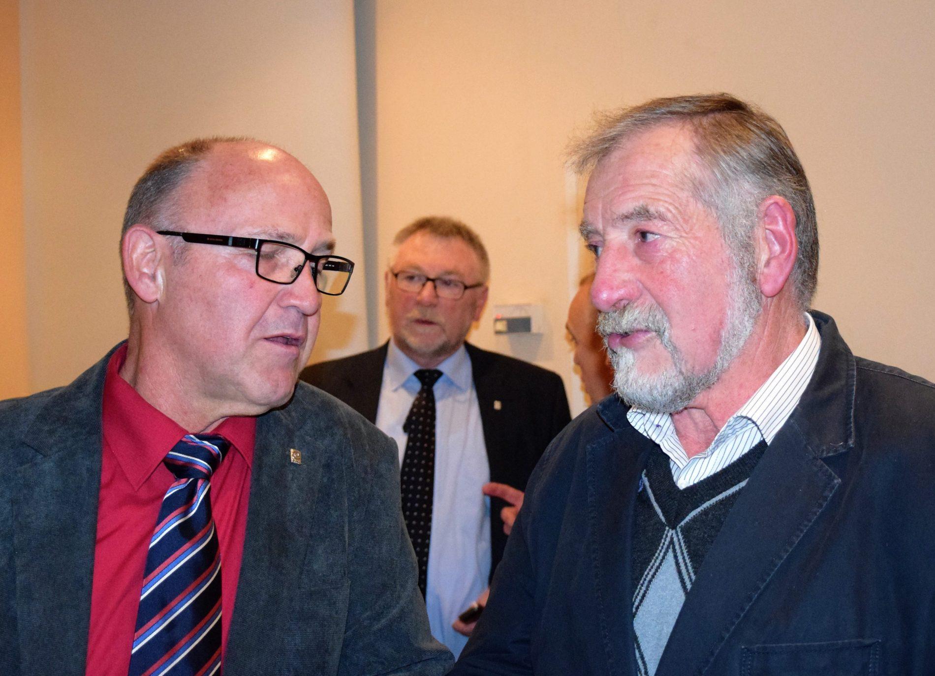 Klaus Neumann und Alois Hoffmann