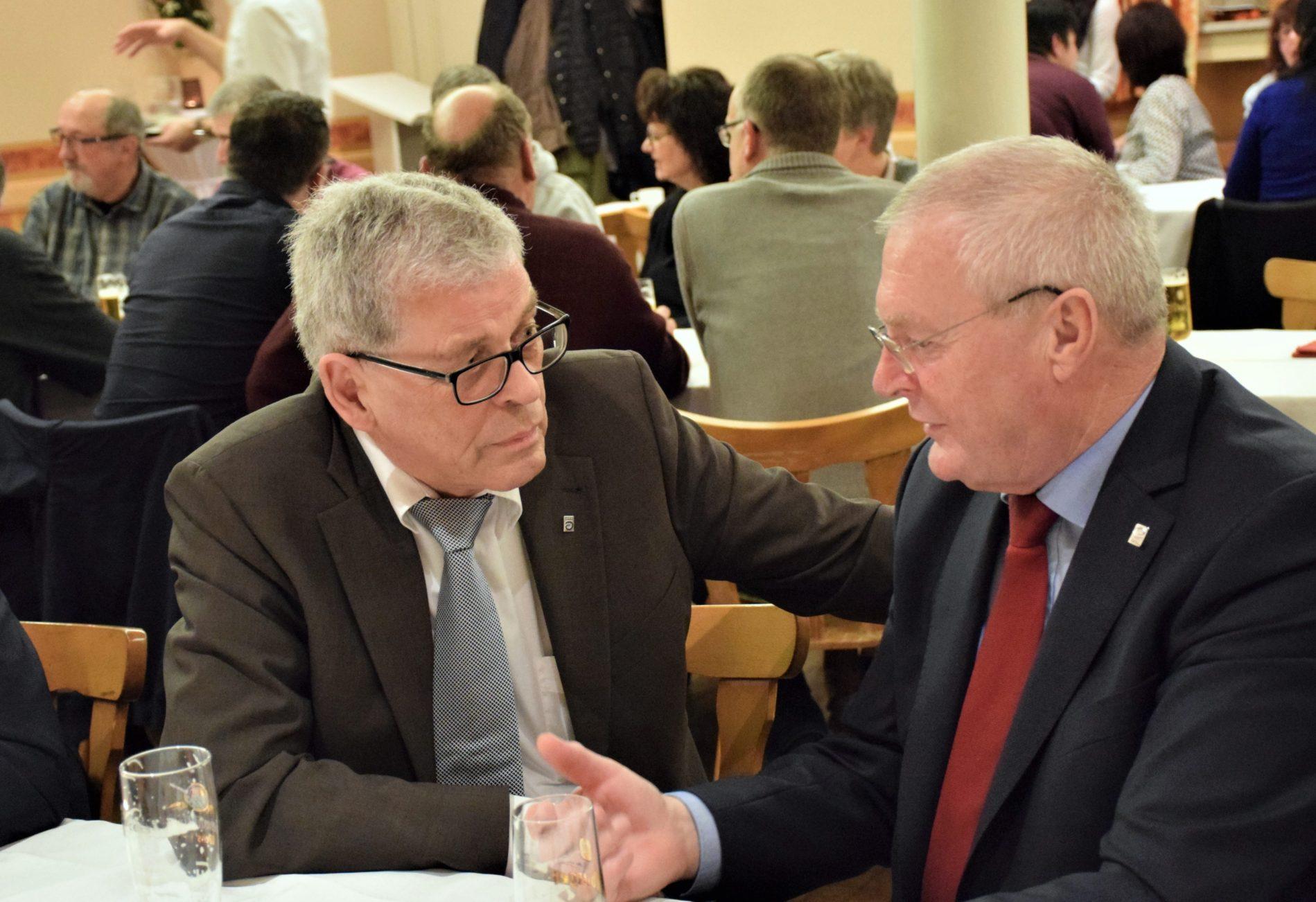 Roger Gräf und Josef Junk