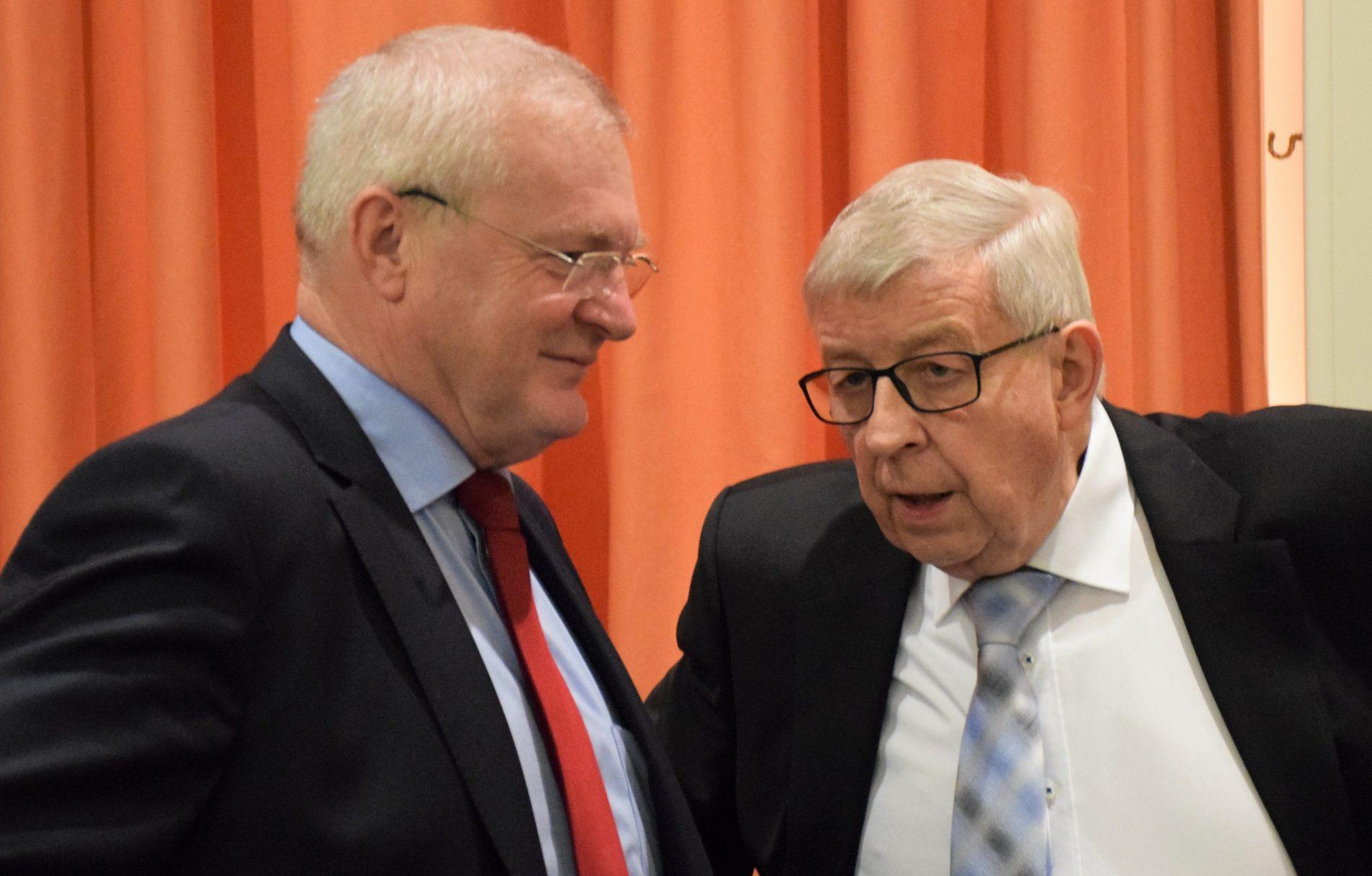 Josef Junk und Paul Schaefer
